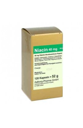 Advanced Pharmaceuticals GmbH , Niacin 40 mg pro Kapsel (120 stk)