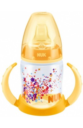 Nuk first choice bottle for learning pp yellow confetti 150 ml