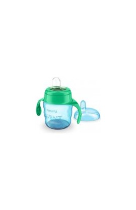 Philips Avent mug for first sips classic mild-green 200 ml