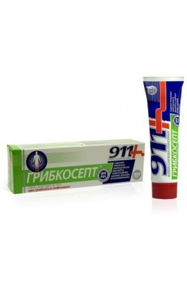 911 GRIBKOSEPT gel for hands and feet 100ml