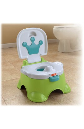 Fisher Price Playing and singing potty 3v1 green