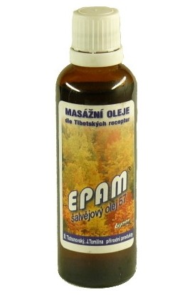 Epam, Epam massage oil 57 sage 50 ml