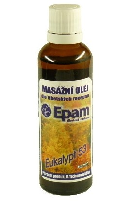 Epam, Epam massage oil 53 eucalyptus 50 ml