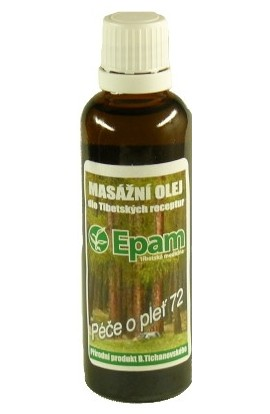 Epam, Epam massage oil 72 mixture 50 ml