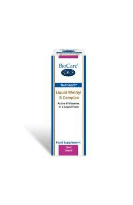 Biocare Nutrisorb© Liquid Methyl B Complex 15ml Flasche (vegan)