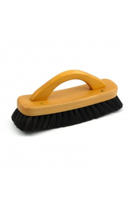 REDECKER, SHOE SHINE BRUSH WITH HANDLE, 1 PC