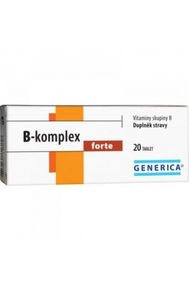 GENERICA, B-complex Forte 20 tablets