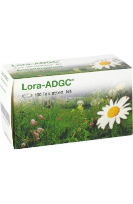 KSK Pharma, Lora ADGC Tabletten, Лора АДГЦ таблетки 100 шт.