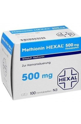 Hexal, Methionin 500mg, Метионин 500mg 100 шт.