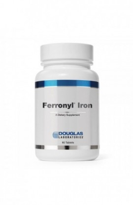 Douglas Labs Ferronyl Iron - 27mg Eisen mit Vitaminen 60 Tabletten