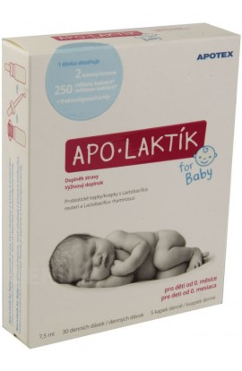 Apotex, Apo Laktík For baby 30 x 7,5 ml