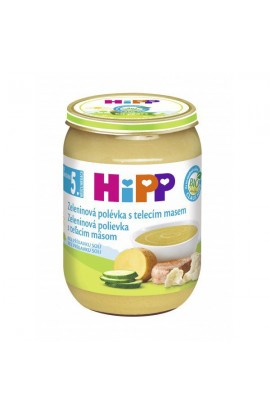 HiPP SOUPS BIO Vegetable with veal m. 190g