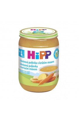 HiPP BIO Vegetable with turkey meat 190g