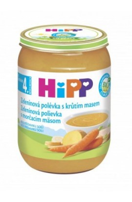 HiPP Vegetable with turkey meat 6x190g
