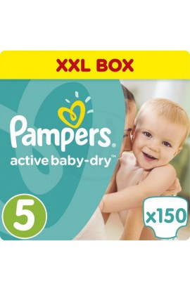 Pampers Active Baby-Dry 5 Junior 11-18 kg 150 ks