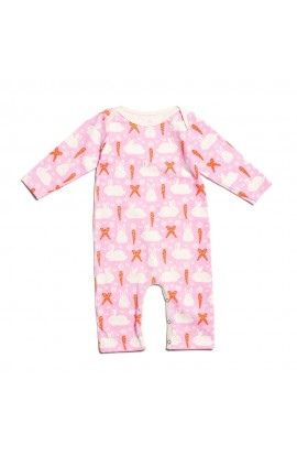 WINTER WATER FACTORY, INFANT OVERALLS WITH a LONG RUKÁVKEM 6M (bunny ), 1 PCS