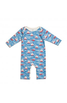 WINTER WATER FACTORY, INFANT OVERALLS WITH a LONG RUKÁVKEM 12M (sailboat), 1 PCS