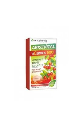 Arkopharma Arkovital Acerola 1000 30 Tablets to Crunch