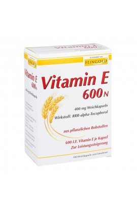 Vitamin E 600 N Softgels (100 pcs)