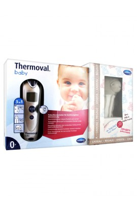 Hartmann Thermoval Baby Thermometer + Rattle Free