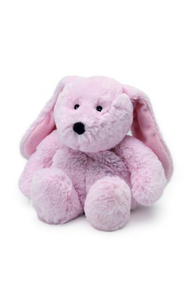Soframar Cozy Kuscheltier Pink Rabbit Hot Water Bottle