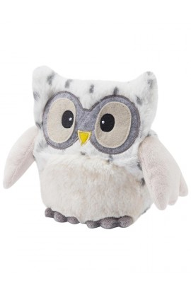 Soframar White Owl hot water bottle