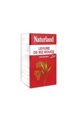 Naturland Red Rice Yeast 150 Vegecaps