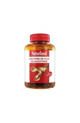 Naturland Soya Lecithin 160 Gel-Caps