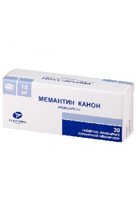 Kanonfarma Production Memantine Canon 10mg 30 tablets