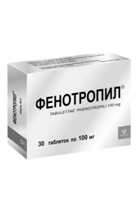 Valenta Pharmaceutics Fentotropil 100mg 30 tablets