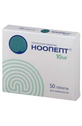 Pharmstandard Noopept 10mg 50 tablets