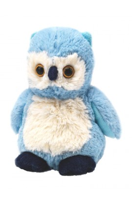 Soframar Cozy Junior cuddly toy owl hot water bottle