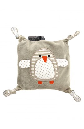 Soframar Fashy heat pillow with rapeseed filling penguin