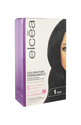 Elcéa Permanent Hair Colour, 1: Black