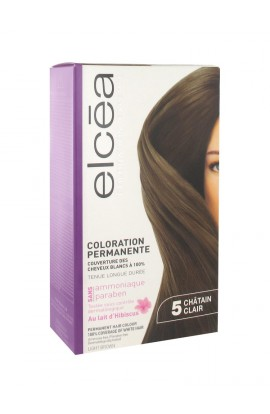 Elcéa Permanent Hair Colour, 5: Light Brown