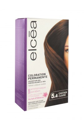 Elcéa Permanent Hair Colour, 5.4: Copper Brown