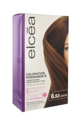 Elcéa Permanent Hair Colour, 6.53: Cocoa Chestnut