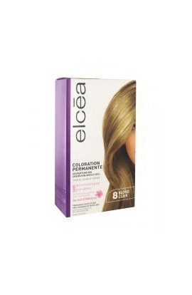 Elcéa Permanent Hair Colour, 8: Light Blonde