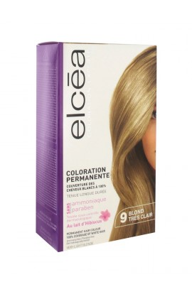 Elcéa Permanent Hair Colour, 9: Very Light Blonde