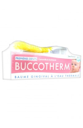 Buccotherm First gum balm with thermal water 50 ml + 1 toothbrush
