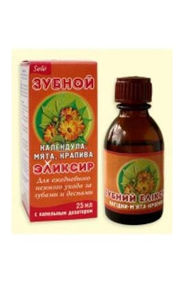 Aromatics Elixirs for the care of teeth and gums Zlata, Calendula 25 ml