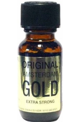 Lockerroom Marketing AMSTERDAM ORIGINAL GOLD POPPERS 25ml