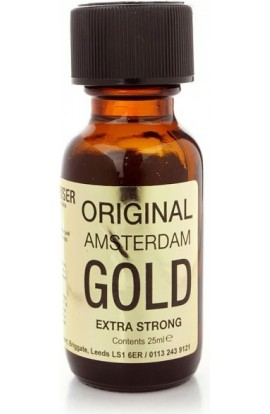 Lockerroom Marketing POPPERS - ORIGINAL AMSTERDAM GOLD 25 ml