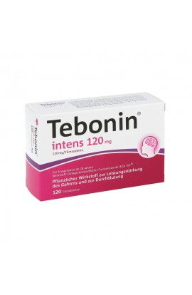 Dr.Willmar Schwabe, Tebonin intens 120mg ,(120 tab)