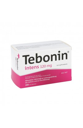 Dr.Willmar Schwabe, Tebonin intens 120mg , (200 tab)