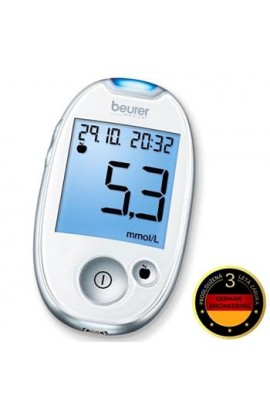 Glucometer BEURER GL 44 white / 3 year warranty