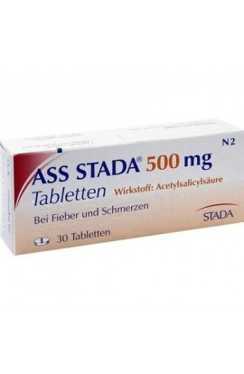 Stada, ASS 500mg Tabletten,  (30 tab )