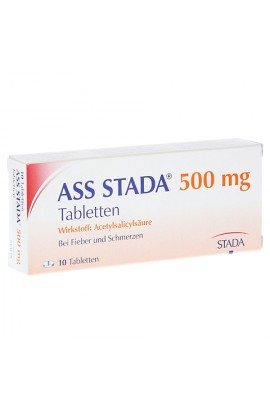 Stada, ASS 500mg Tabletten,  (10 tab )