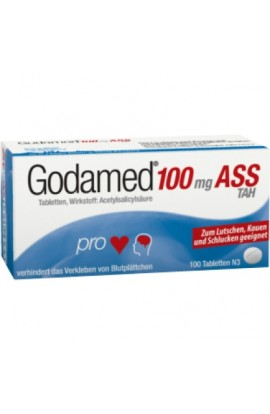 Dr.R.PFLEGER, Godamed 100mg ASS TAH,  (100 tab)