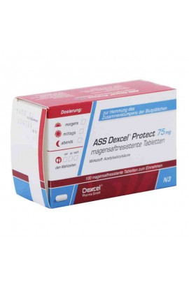 Dexcel,ASS Dexcel Protect 75mg, (100 tab)